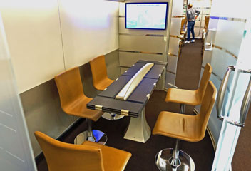 Frecciarossa executive meeting room