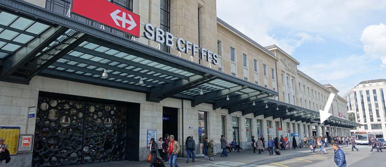 日内瓦车站外观