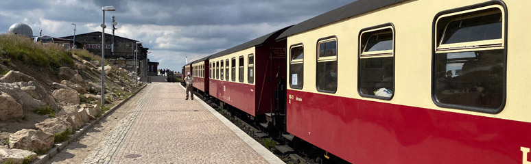 The 16:22 train from Brocken to Wernigerode