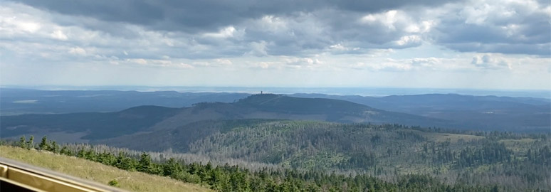 The view from the Brocken on the way down