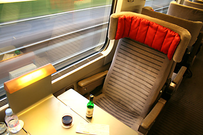 Seat 61, the best seat on Eurostar