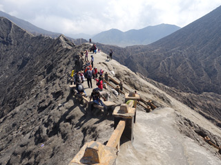 Mt.Bromo, the rim walk