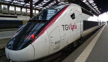 TGV-Lyria at Paris Gare de Lyon