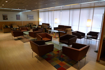 Sala Club lounge at Madrid Atocha