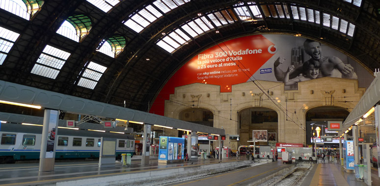 Milan Centrale - a brief station guide for train travellers