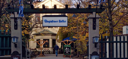 Entrance to the Augustiner-Keller