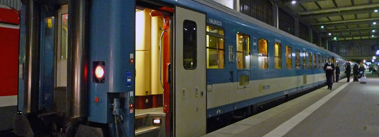 Munich To Budapest By Sleeper Train Tickets From 59