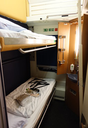 1 or 2 bed sleeper on Nightjet train to Vienna