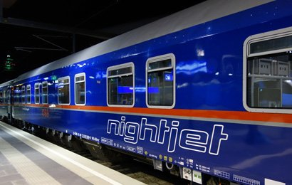 Comfortline sleeping-car as now used on Nightjet trains