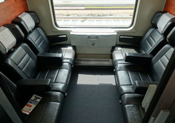 1st class 6-seat compartment