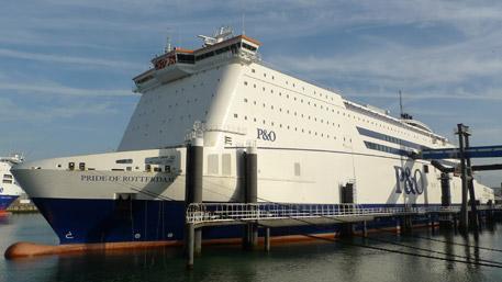 "P&O Ferries Pride of Rotterdam"" width=""457"" height=""257"