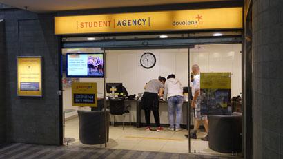布拉格赫拉尼学生服务中心(Regiojet)售票处