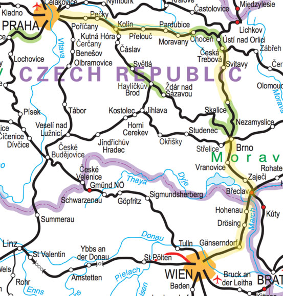 PRAGUE TO VIENNA by train from €14 (£13, $17)