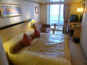 Queen Mary 2:  Premium Balcony stateroom.  This one is on 6 deck.