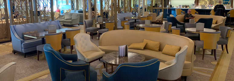 Carinthia Lounge on Queen Mary 2