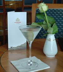 A Martini in the Chart Room bar