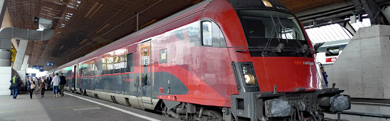 Trains From Salzburg Train Times Fares Online Tickets
