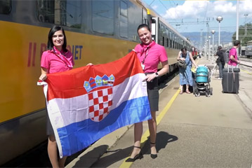 Regiojet arrived in Croatia