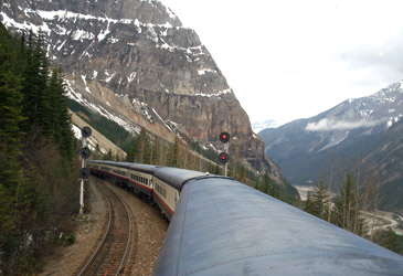 Rocky Mountaineer in British Columbia