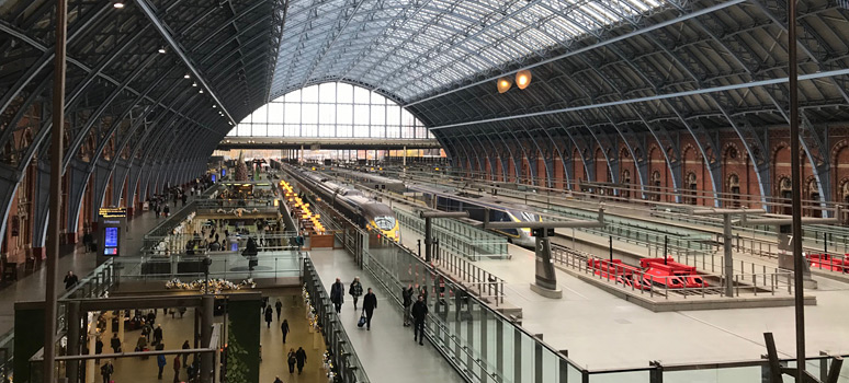 St Pancras upper level