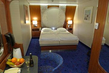 Stena Line ferry captain's class cabin