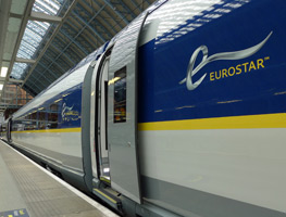 Eurostar at Paris Nord