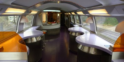 TGV Duplex cafe-bar