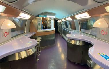TGV Duplex cafe-bar