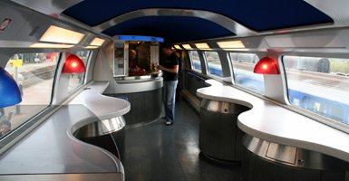 TGV Duplex cafe-bar, first generation