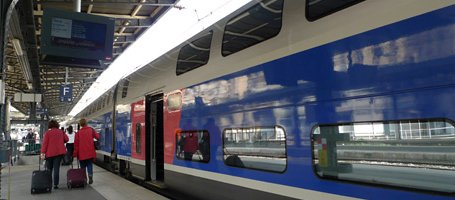 An TGV Duplex to Munich at Paris Est.
