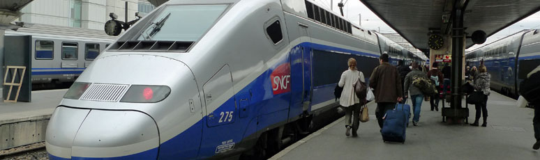 TGV Duplex at Paris Gare de Lyon