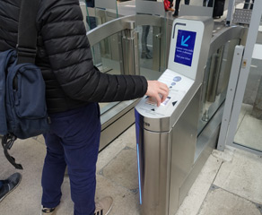 TGV ticket gates