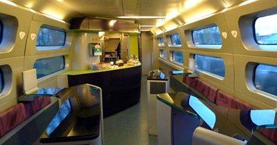 TGV bar car