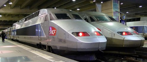 A TGV Atlantique at Paris Montparnasse