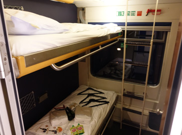 Nightjet deluxe sleeper, 2-bed