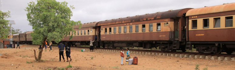 Bulawayo to Chicualuala train
