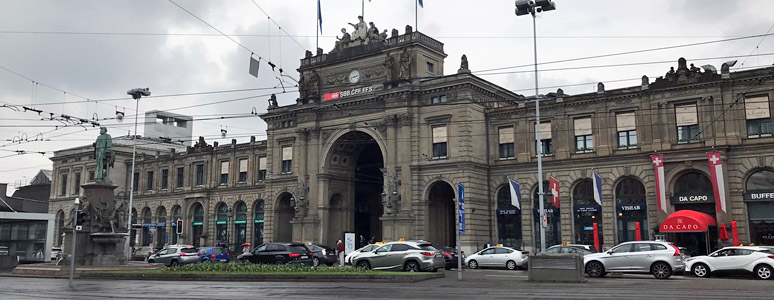 Zurich HB - a brief station guide for train travellers on