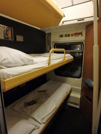 Standard (economy) sleeper as 1-berth