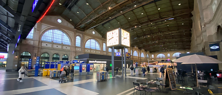 Zurich HB - a brief station guide for train travellers
