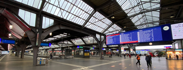 Zurich HB - a brief station guide for train travellers on zurich rail station map, antwerp central station map, zurich germany map, amsterdam central map, zurich airport map, zurich s-bahn map, zurich bahnhof map,