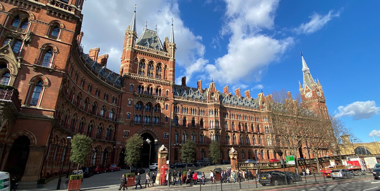 LONDON St PANCRAS - a brief station guide for travellers